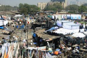 Mumbaj - [ubliczna pralnia